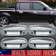 1997-2002 Ford Expedition 01-03 F150 Crew Chrome 4 Door Handle Covers No Kp W/ph