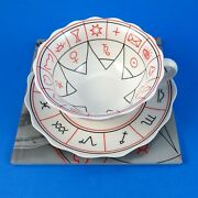 Fortune Telling The Cup Of Destiny Tea Cup And Saucer And Book By Jane Lyle