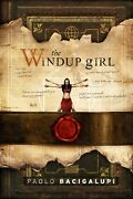 The Windup Girl Paolo Bacigalupi Subterranean Deluxe Limited 160 Of 200