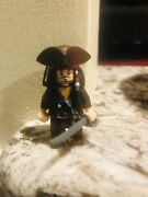Lego Pirates Of The Caribbean- Lotljack Sparrow And Angelica Minifigures