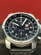 Victorinox Swiss Army Air Force 9g600 Automatic Chronograph Swiss Valjoux 7750
