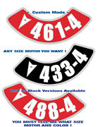 Pontiac Andbull Air Cleaner Decal Andbull Any Cid Stroker Or Stock Cubic Inches