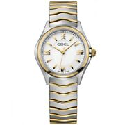 Watch Woman Ebel Wave 1216195 Of Stainless Steel/silver