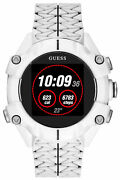 Watch Man Guess Watches Gents Connect C3001g4 Rubber White