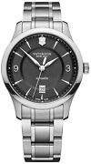 Watch Man Victorinox Alliance V241898 Of Stainless Steel Silver Plated