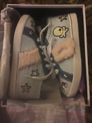Uggs K Patch It Sneaker Size 5 Patches And Stud Detail Shearling