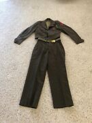Vintage Wwii Us Army 5th Infantry Div Complete Uniform With Cord And Bronze Star