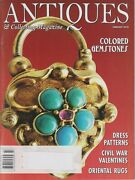 Antiques And Collecting February 2010 Colored Gemstones Dress Patterns Civil War