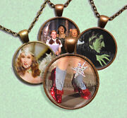 Wizard Of Oz - 12 Different Designs Glass Pendant Necklace Jewelry