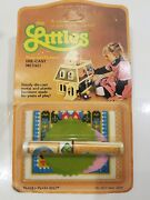 Vintage 1980 Rare The Littles Mattel Rugs And Pictures 7657 Unopened Package Nos