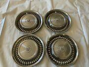 1971 1972 Cadillac Hubcaps Wheel Covers Hub Caps Fleetwood Deville Limo