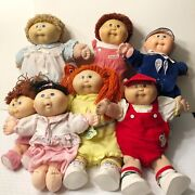 Rare Vintage 1985 Cabbage Patch Kids Lot Of 7. Make A Reasonable Offer