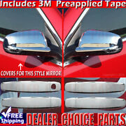 2013 2014 2015 Chevy Malibu 16 Limited Chrome Door Handle Covers+mirror Overlays
