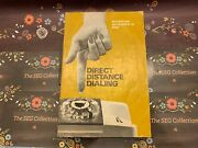 Direct Distance Dialing Booklet General Telephone Company Of Florida Tampa 1968