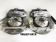 Brembo Bbk Front For Bmw X3 F25 X4 F26 6pot 360x30 Drilled Rotor Disk