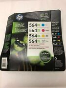 Hp 564xl High Yield Original Ink Photo Combo Pack Of 4 New Expired 05/2018