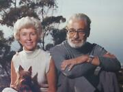 Famed Antony Di Gesu Rare Photo Theodor And Audrey Geisel In 1970s Signed