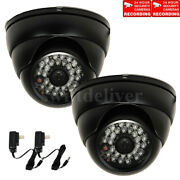 2x 700tvl High Resolution Security Camera W/ Sony Effio Ccd Outdoor Infrared Ak0