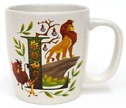 New Disney Abcdisney Letters L Is For Festival Of The Lion King Mug Cup