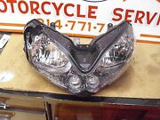 Kawasaki Concours Zg1400 Head Light Assy Damaged, For Parts Or Repair Only.