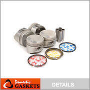 Pistons And Rings Fit 91-98 Toyota Paseo Tercel 1.5 5efe Dohc