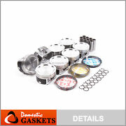 Pistons And Rings Power-improved Fit 97-15 Ford Lincoln 5.4l Sohc 16v