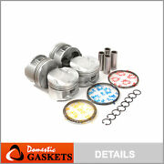 Pistons And Rings Fit 00-06 Toyota Corolla Celica Gts Matrix 1.8l 2zzge