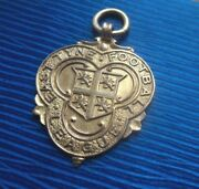 9ct Gold Football Watch Fob Medal / Pendant - East Tyne 1931 - Not Engraved
