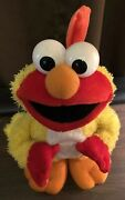 Sesame Street Chicken Dance Elmo By Fisher Price - Sings And Flaps His Wings