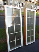 2 Casement Andersen Style Window Double Pane Glass 24 X 62 Local Pick Up Only