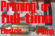 Electric Priming/main Fuel Pump For Chev 1962 1963 1964 1965 1966 1967 1968