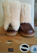 Ugg Patten Chestnut Shearling Boots Women Size 5 Genuine And New In Box Uggs