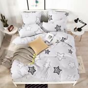 Bedding Set Duvet Cover Cotton Printed Patterned Bed Sheets Pillowcase Bedsheets