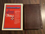 Niv 1978 Pre 1984 Personal Reference Bible - Burgundy Bonded Leather - Oop
