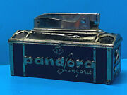 Vtg 1950and039s Pandora Lingerie 25 Years Chic Lingerie Smo Refillable Table Lighter