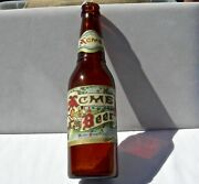 Old San Francisco California Ca Acme Brewery Acme Beer Paper Label Bottle Nice