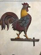 Vintage Ethan Allen Rooster Wall Plaque