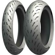 Michelin Power 5 Front Rear Tyre Combo 120/70-17 180/55-17 Motorcycle Tyres