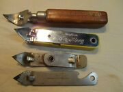 4 Vintage Collectible Beer/can/bottle Openers Collection