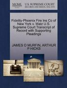 Fidelity-phoenix Fire Ins Co Of New York V. Wal Murfin O