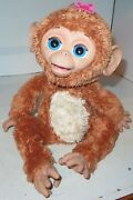 Furreal Friends Cuddles My Giggly Monkey 2012 Version Makes Sounds Moves Frf Guc