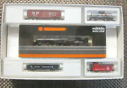 Marklin Z Scale 8007a Baltimore And Ohio 2-8-2 Steam Engine And 4 Freight Car Set