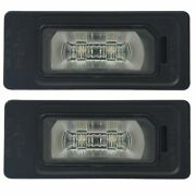 Lighting Plate Led Audi A1 8x From 06/2011 2x Original Type Lights