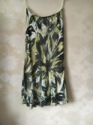 Phase Eight Skirt 14 Nwts Andlsquosilk . Lilly Print Andlsquo / Wedding / Smart Occasion New