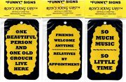 Funny Comic Humorous Sayings Signs Plaques Great Gifts For Family Friends 4