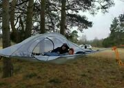 Tree Tent Outdoor Camping Hiking Hammock Bed With Mosquito Net Garden Shades New