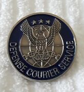 Lot Of 12 3 Each, Total 36 Ustranscom Defense Courier Service Challenge Coin