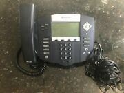 Polycom Soundpoint Ip550 Voip Sip Phone + Adapter