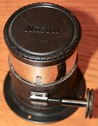 Bausch Lomb Lens 12 In. E.f. Rochestereo Adjustable Projector Magic Lantern