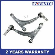 2pc Front Lower Control Arm Ball Joint Fit For Nissan 02-06 Altima 04-08 Maxima